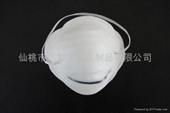 Dust/Cone Disposable Face Mask with Earloop