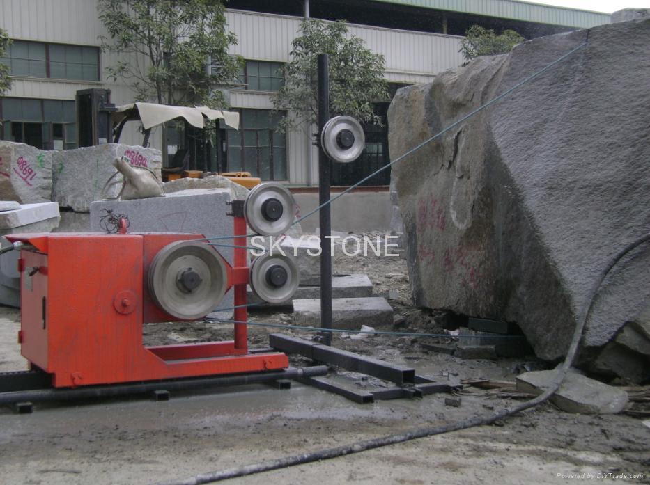 TSY-11/15 Diamond wire saw machine, for block cutting. - SKYSTONE ...