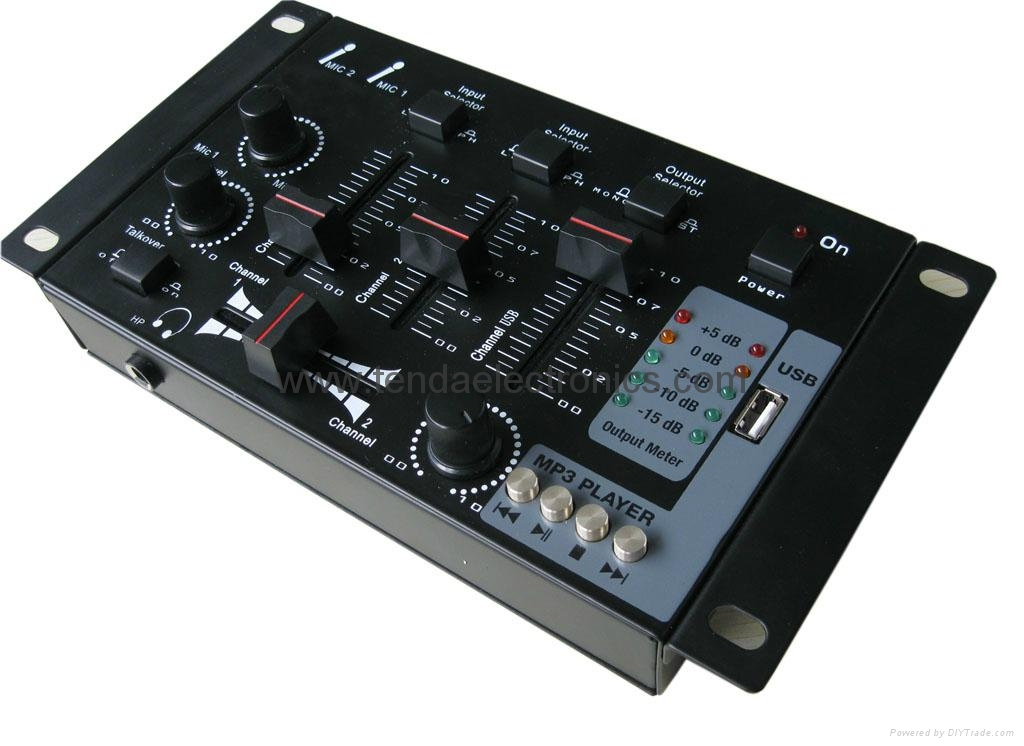 Mini DJ mixer 1