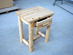 木制外贸出口床头柜