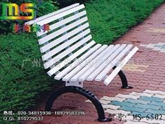 钢结构休闲椅