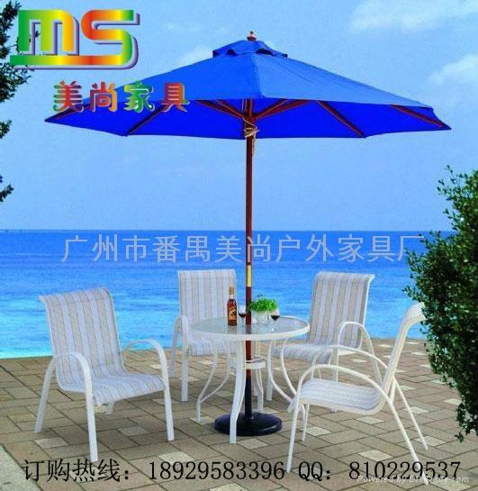 戶外傢具-特絲林網布桌椅 1