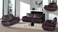 1/2/3seat leather sofa  A011