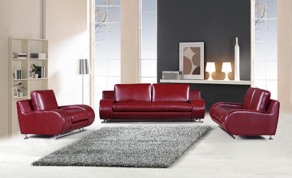 1+2+3seat Leather Sofa