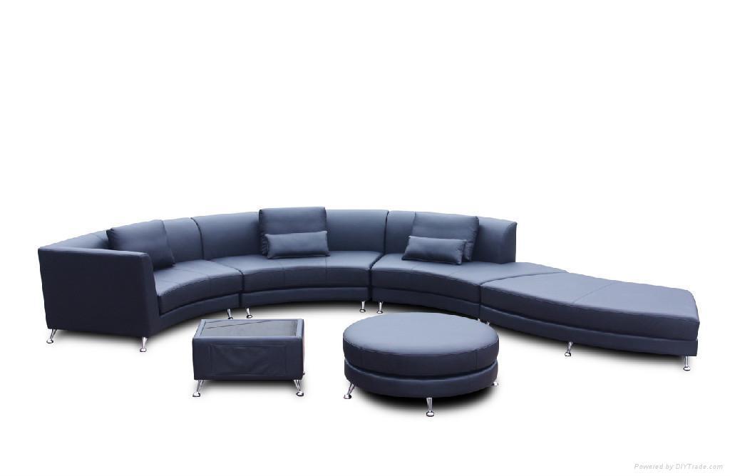leather corner sofa JX150 1