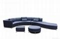 leather corner sofa JX150