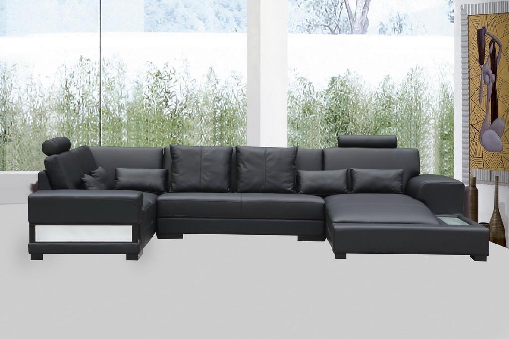 leather corner sofa JX148 3