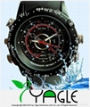 8GB Waterproof Watch Camera (DVR 1280x960 30FPS, Take Photo:3264x2448)