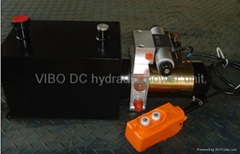 DC hydraulic power unit/power pack