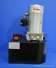 DC hydraulic power unit