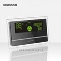 Pressurized solar water heater controller
