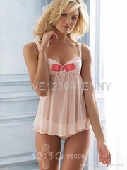 Sweet bow tie babydoll