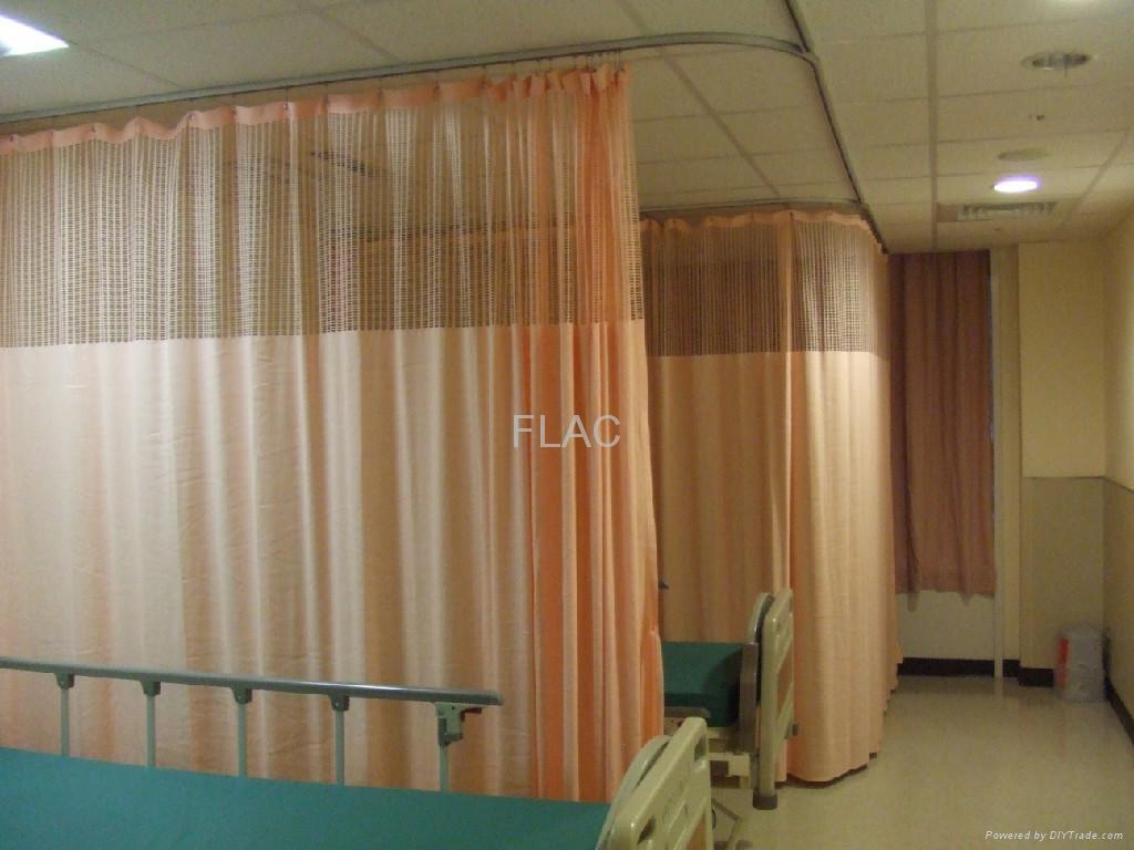 Hospital Flame Retardant Cubicle Curtain Flac China