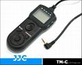 Timer remote control for Canon/ Pentax/ Contax/ Samsung  camera