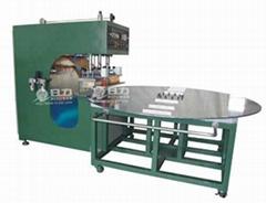 轉盤式高周波PCV沼氣池熔接機