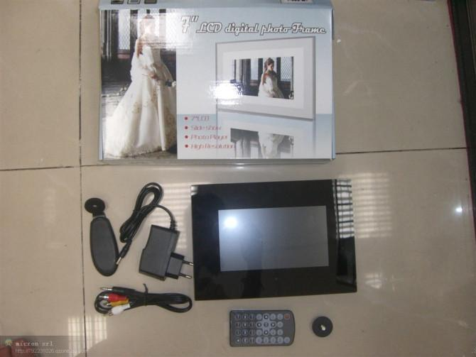 7 Lcd Digital Photo Frame Ly 708 Italy Trading Company Digital