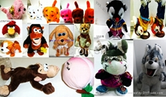 Electrical plush toys