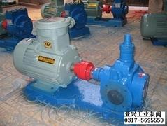供應各種型號YCB圓弧齒輪泵