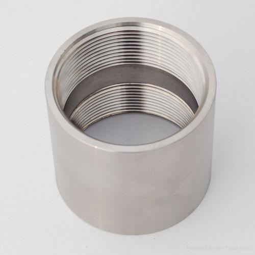 1 2 Quot Threaded Steel Couplers : Stainless steel socket threaded coupling xl china