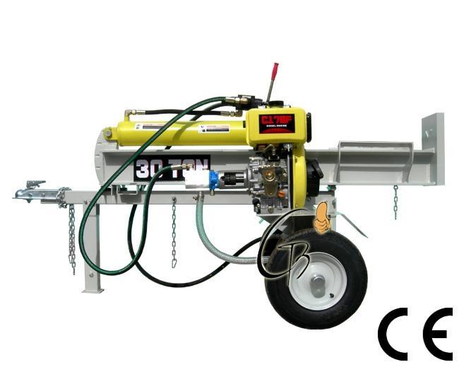 diesel 30T log splitter 1