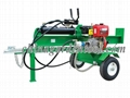24T diesel log splitter