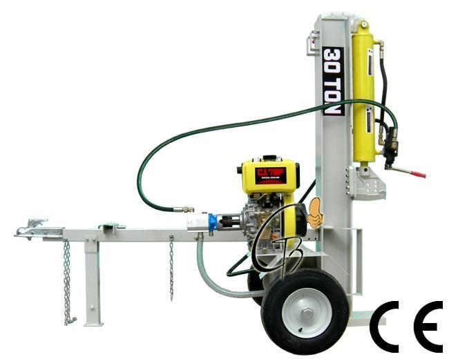 40T petrol log splitter 610mm 1