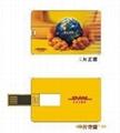 Usb credit card  flash drives
