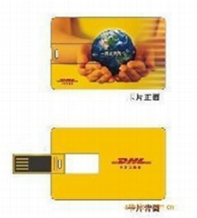 Usb credit card  flash drives