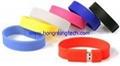 usb wristband usb bracelets flash drives