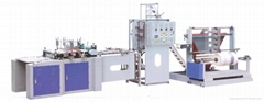 Scald zipper bag making machine