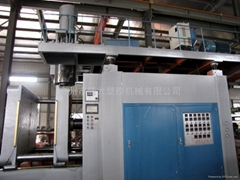 extrusion blow molding machine zk-120