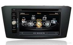 豐田艾云絲車用多媒體導航帶DVD收音藍牙3G/WIFI觸摸屏