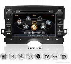 豐田銳志2009車用多媒體導航帶DVD收音藍牙3G/WIFI觸摸屏