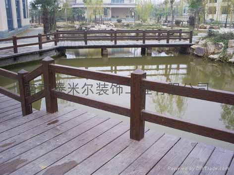 南京仿木葡萄架 3