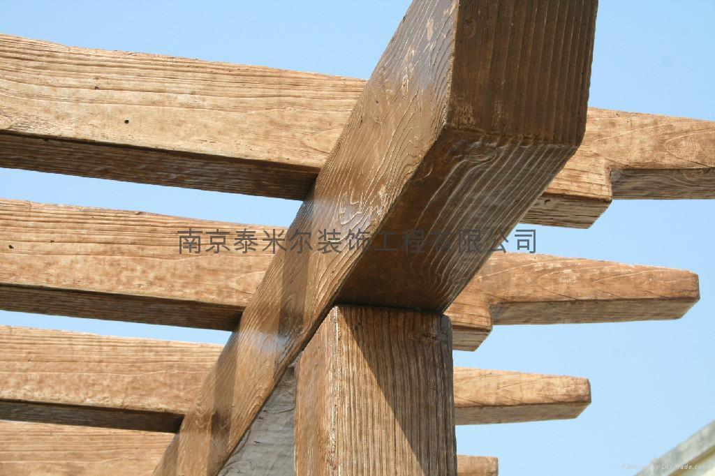 南京仿木葡萄架 5
