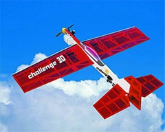 """""""挑戰3D""""遙控特技模型飛機模型"""