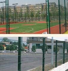 護欄網建筑用網隔離柵帶肋鋼觔小區圍欄