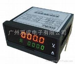 四位雙顯示電流儀電壓表 DMD-40