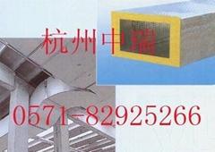 双面彩钢板离心玻璃棉复合风管
