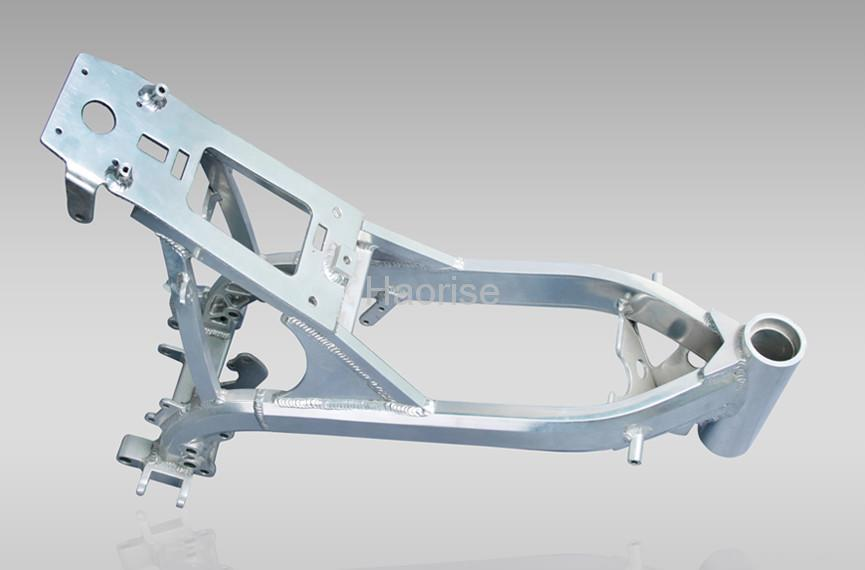 alloy dirt bike frame and swing arm 2 - Dirt Bike Frame