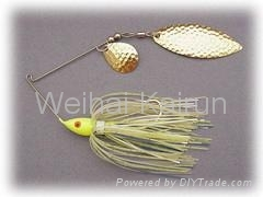 Spoon Spinnerbait Fish Lure