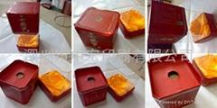 深圳高档亚克力纸质白酒盒印刷包装生产