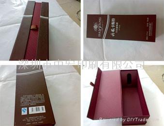 高檔木質葡萄酒盒 4