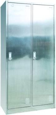 2-door S.S.locker 1