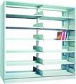 single pillar double-sided book rack