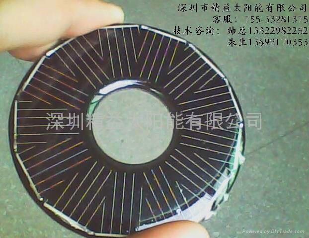 太陽能LED燈用電池組件 1