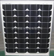 80W單晶太陽能層壓板