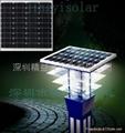 36W太陽能庭院燈層壓板