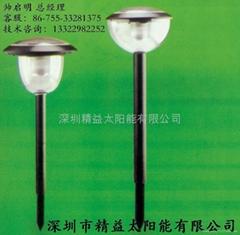 太陽能花園燈層壓滴膠組件