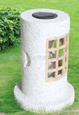 太陽能花園燈層壓滴膠組件 5